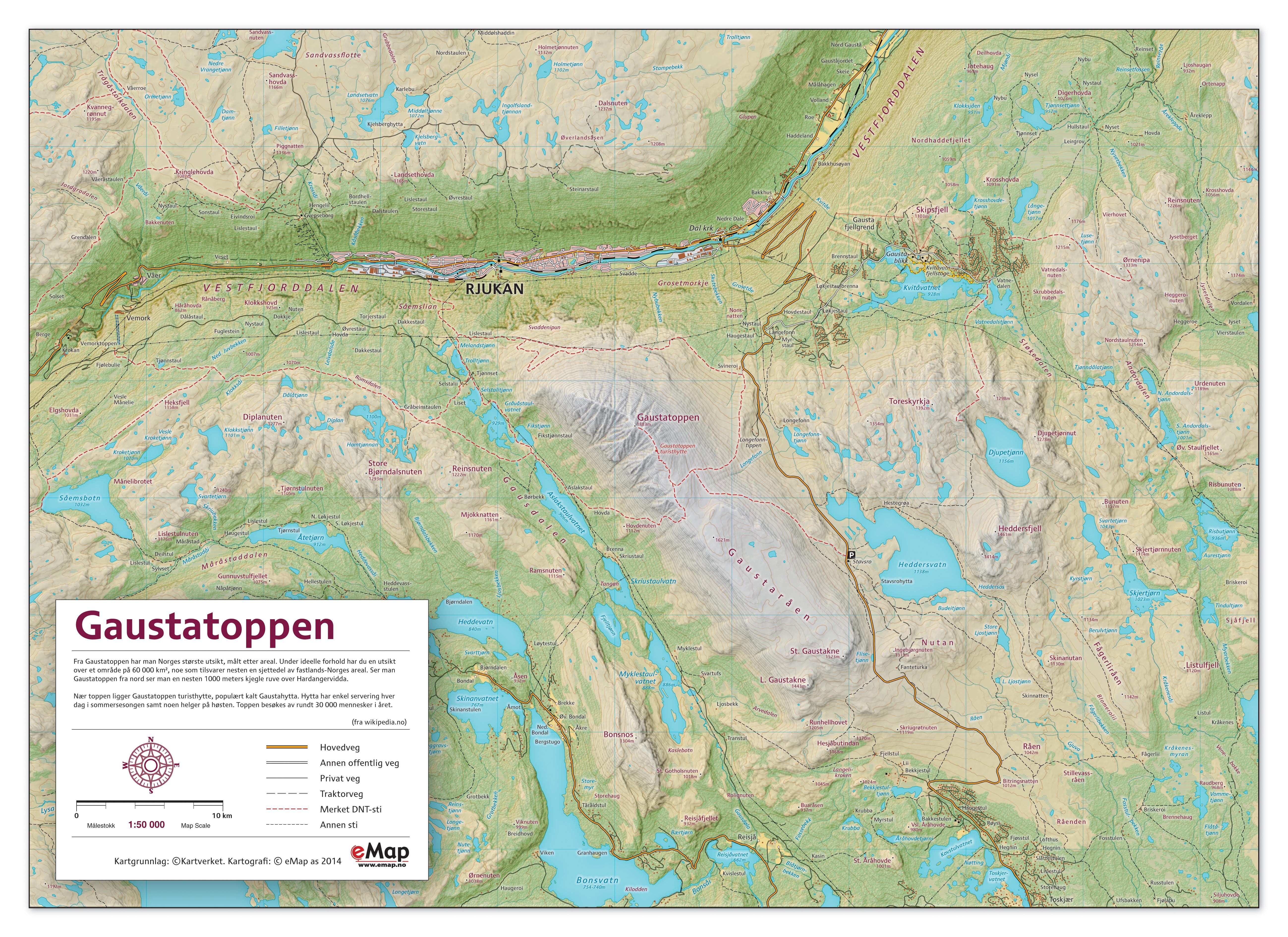 høydekurver på kart eMap   demokart høydekurver på kart