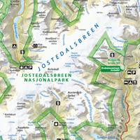 kart over jostedalsbreen eMap   demokart kart over jostedalsbreen