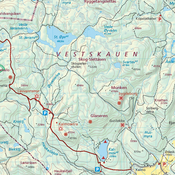 topografisk kart trondheim eMap   karttyper topografisk kart trondheim